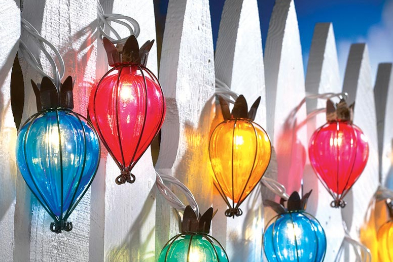 Teardrop String Lights