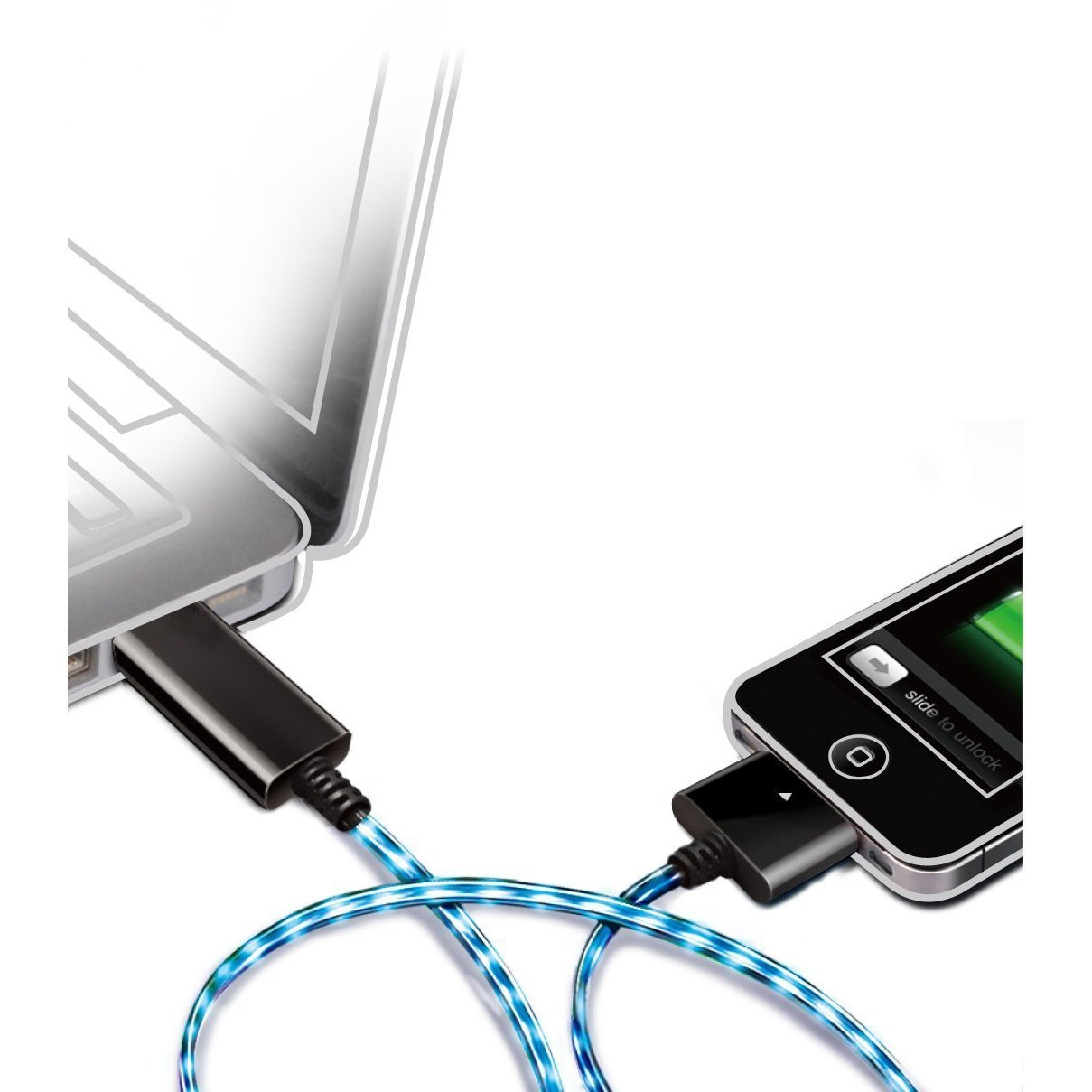 Luminescent Charge and Sync Cable
