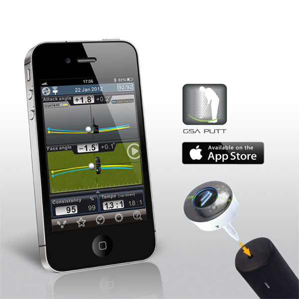3Bays Golf Swing Analyzer PUTT