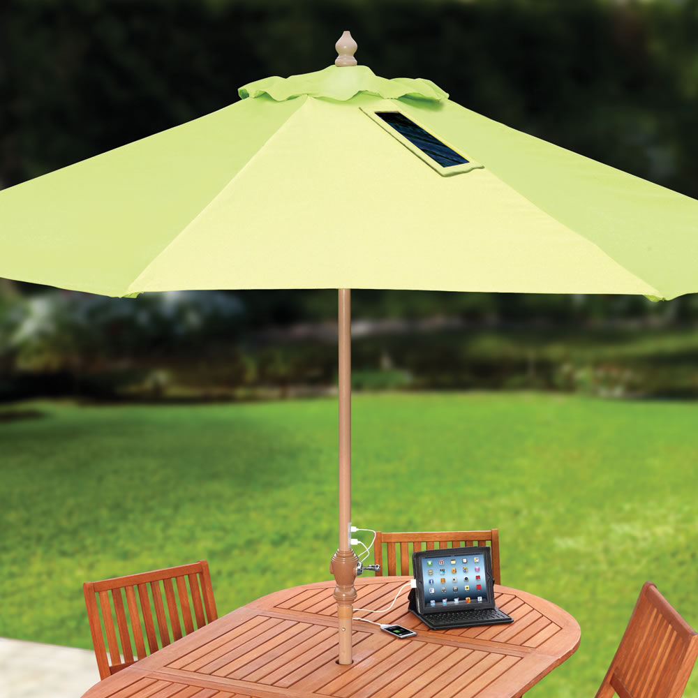 Device Charging Umbrella