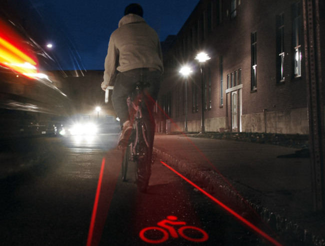 X-Fire Bike Lane Light