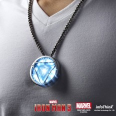 Iron Man 3 Arc Reactor Flash Drive Necklace