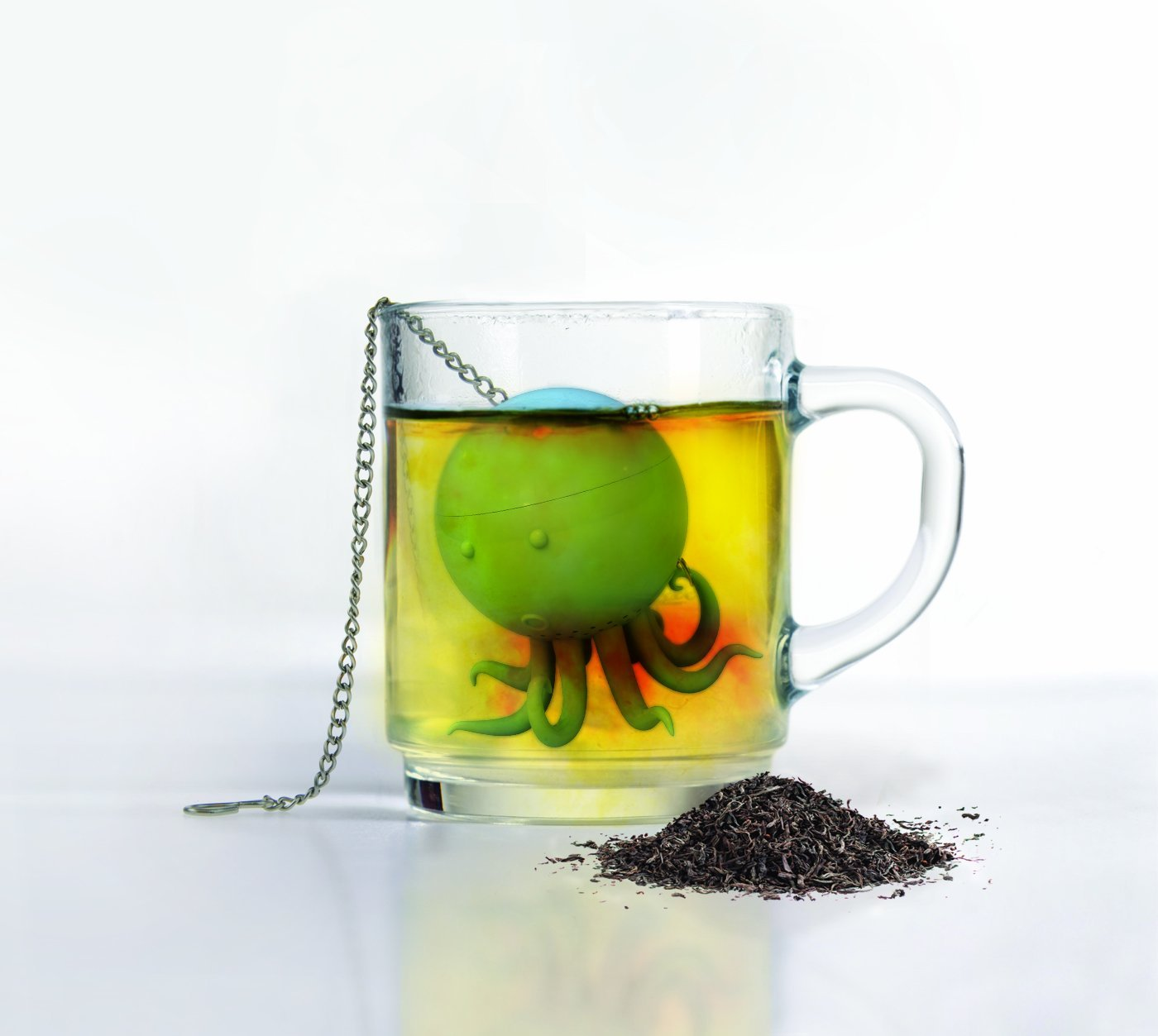 Octeapus tea infuser oh my that 39 s awesome - Octopus tea infuser ...