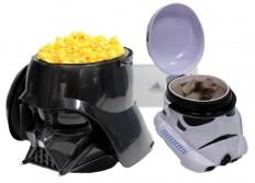 darth vader popcorn stormtrooper drink mug