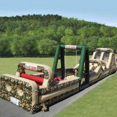 military obstacle course