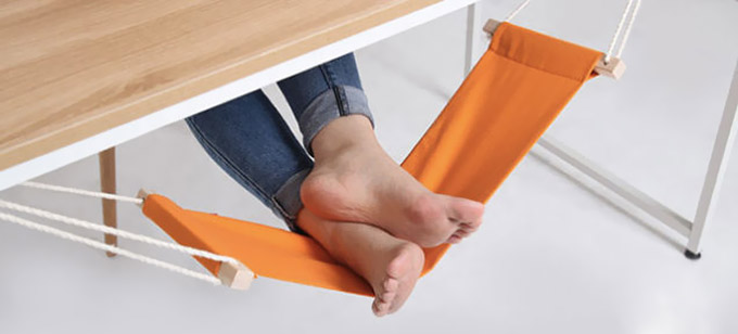 desk foot rest