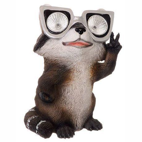 Garden Critter Raccoon