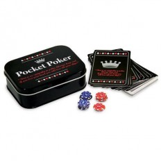 Pocket Poker Portable Game Set