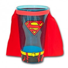 Superman Caped Pint Glass 2