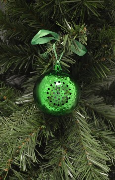 bluetooth speaker ornament