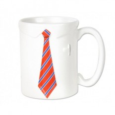necktie coffee mug